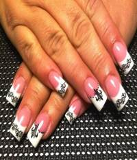 Black And White Bold Nail Art Designs For Your Nails ...