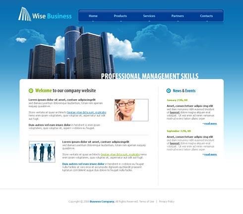 Free Website Templates, Web Templates, Web Design - StylishTemplate