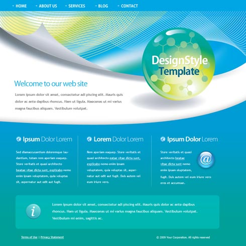 Free Website Templates, Web Templates, Web Design - StylishTemplate - template