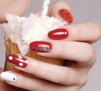 Christmas Nail Design Ideas 2012