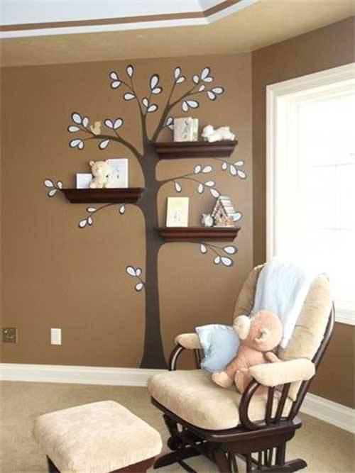Decorating Wall Shelves Ideas 2013