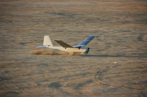 Solar Puma Landing