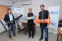 'Z axis' becomes the only start-up from Gujarat selected for 'Make In India Week'