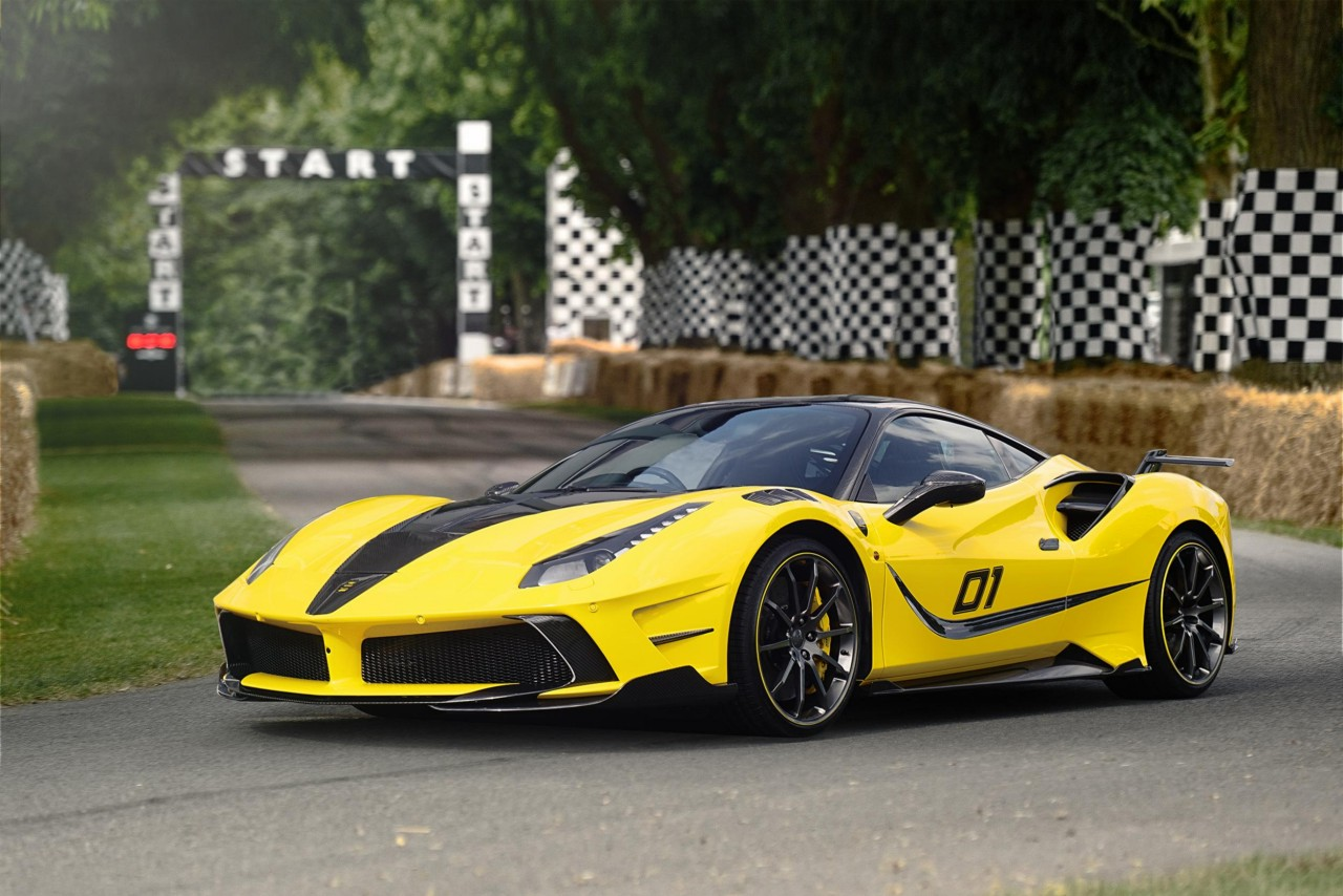 Super Fast Car Wallpaper The Mansory Siracusa 4xx Only Looks Like A Ferrari Fxx K