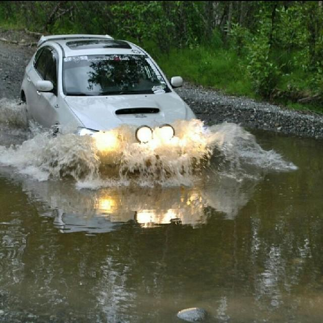 Subaru Photo Of The Day   Rally River Crossing