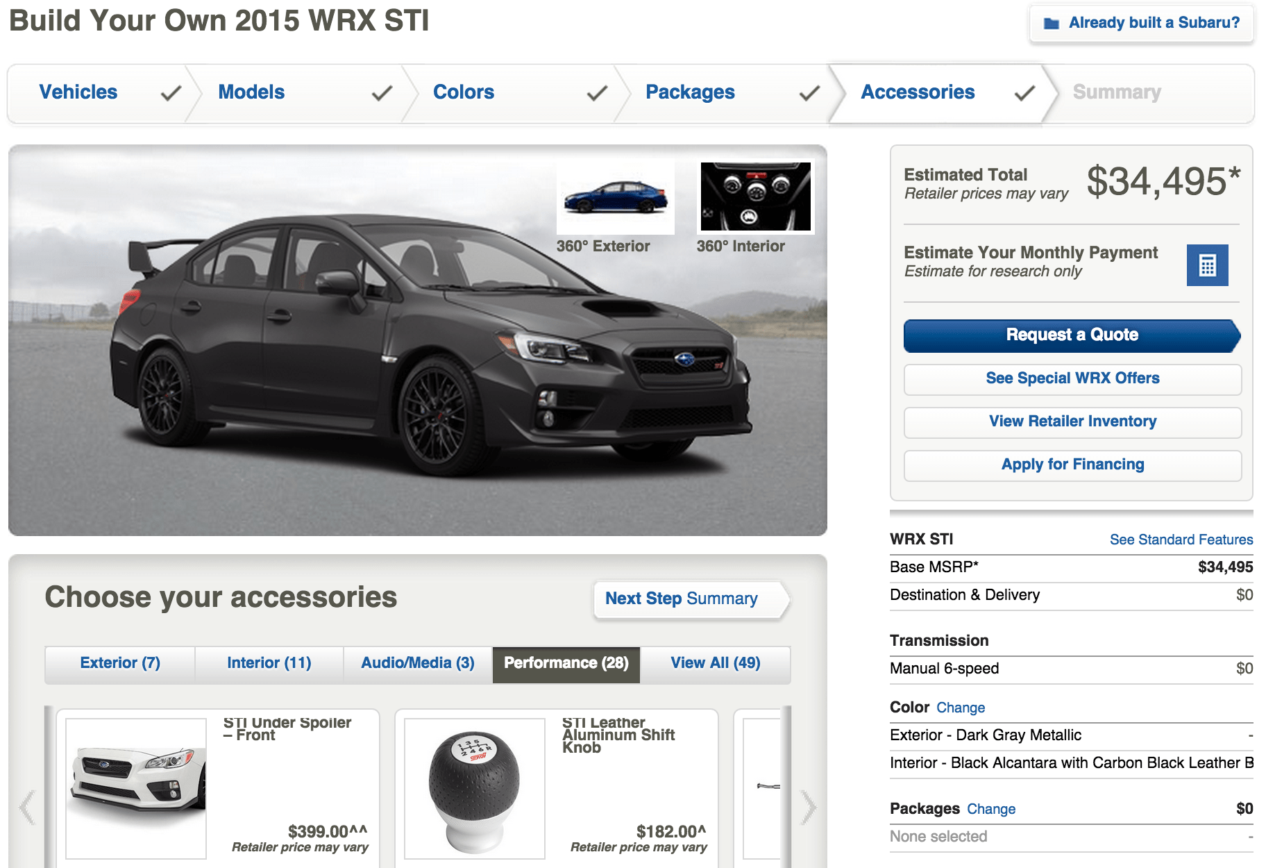 Online And On Sale Buying A Subaru Online Subaru Blog