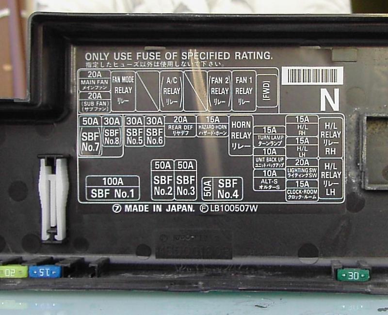 With 2005 Subaru Forester Fuse Box Diagram On Ej25 Engine Diagram