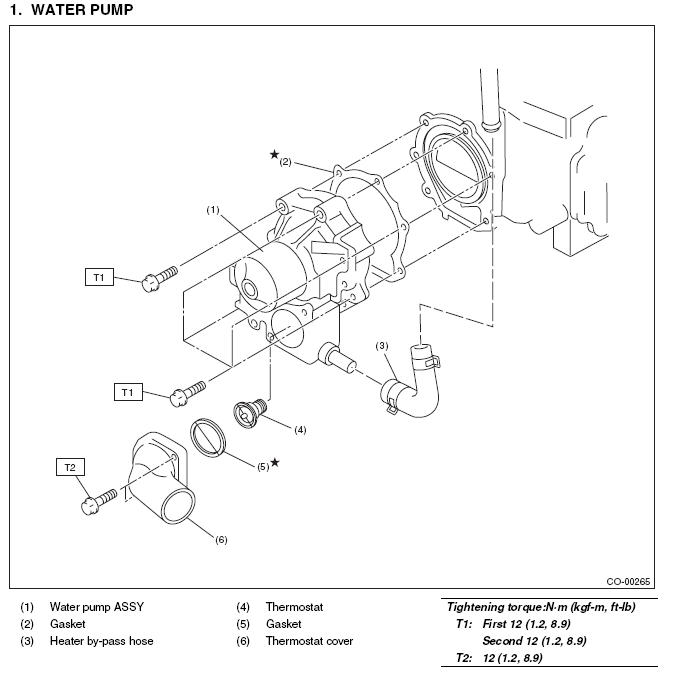 1998 subaru legacy outback engine diagram