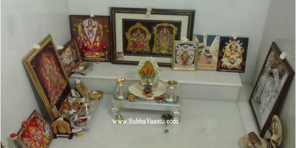 Northeast Pooja Room Vastu Temple