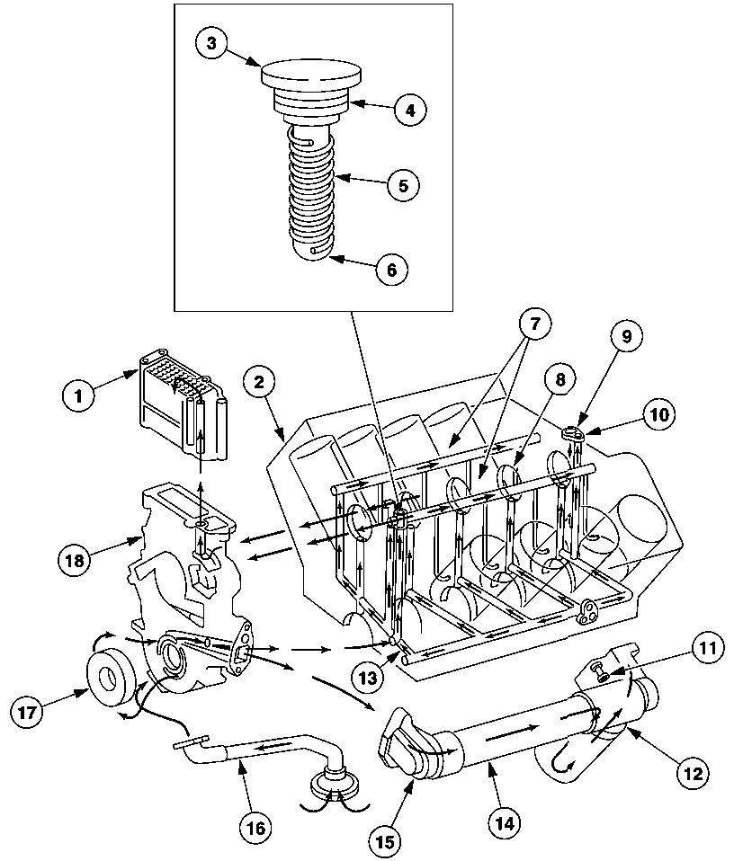 ford diesel engine parts diagram