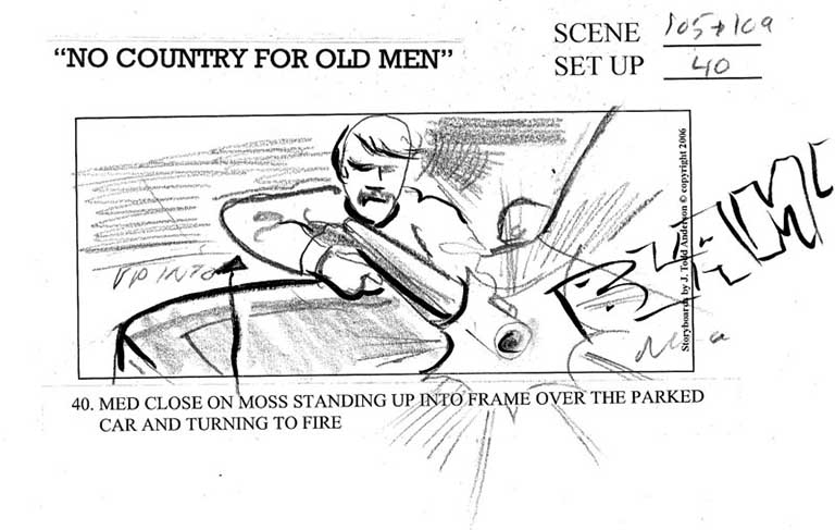 Submarine Channel Storyboards from Famous Films