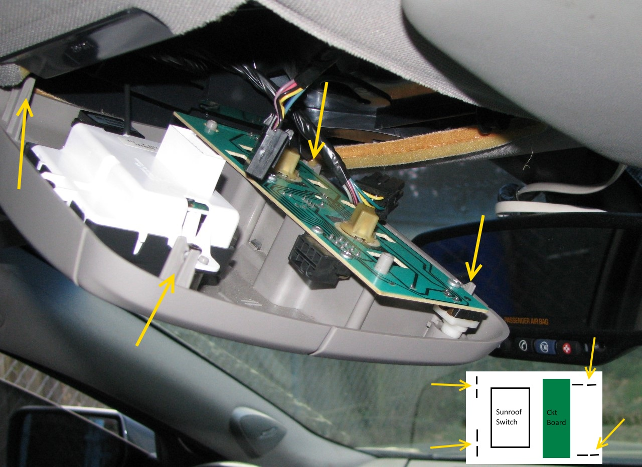 2003 cadillac cts sunroof wiring diagram