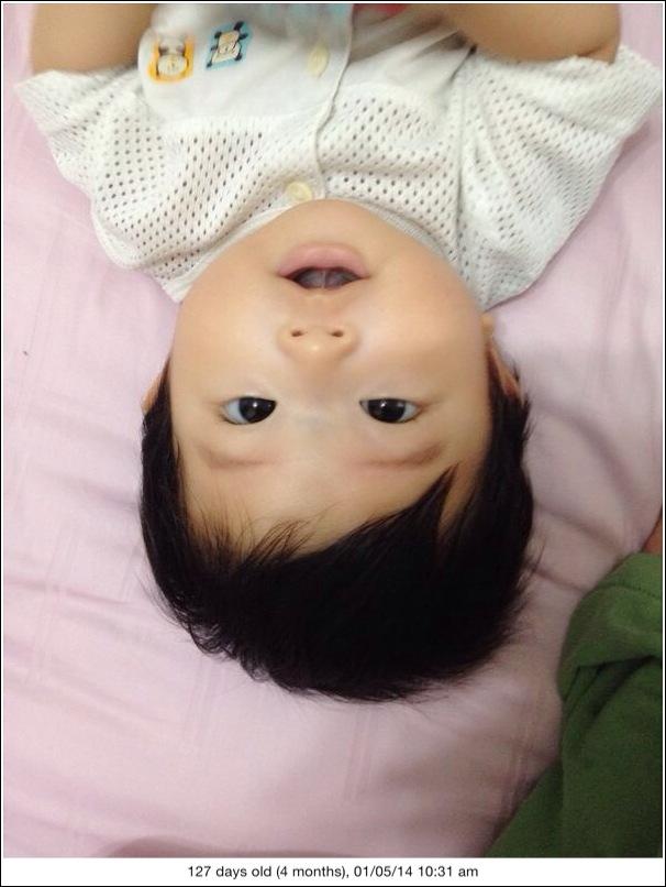 Ayden 4 months