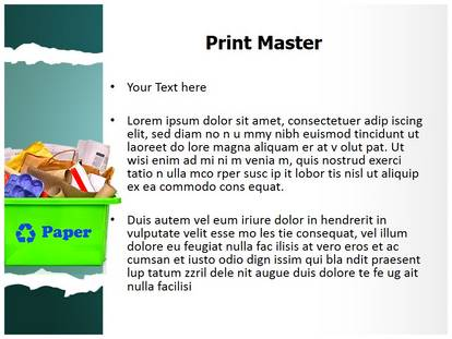 recycling ppt - Josemulinohouse - recycling powerpoint templates