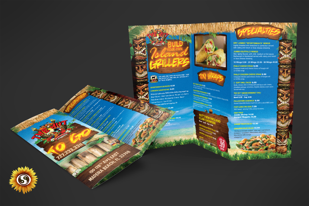 Tri Fold Brochure Design - Subtle Network Design  Marketing