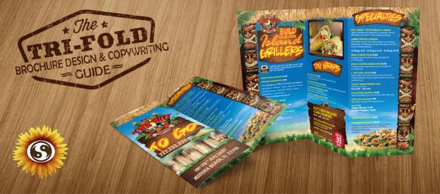 Tri Fold Brochure Design - Subtle Network Design  Marketing