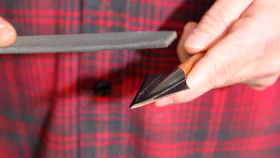 How to Sharpen a Two Blade Broadhead