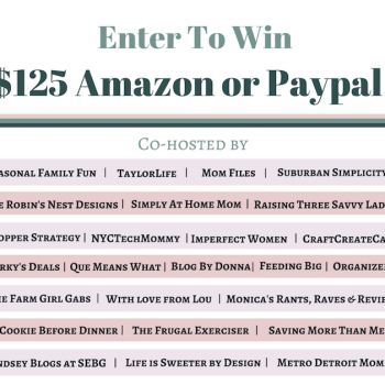 Twitter Giveaway! $125 Amazon or PayPal – 10/2/16