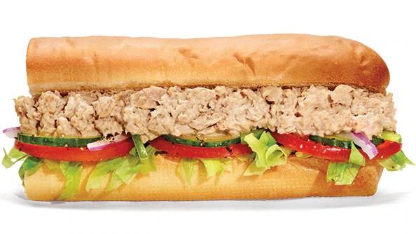 Menu - All Sandwiches SUBWAY - Canada (English)