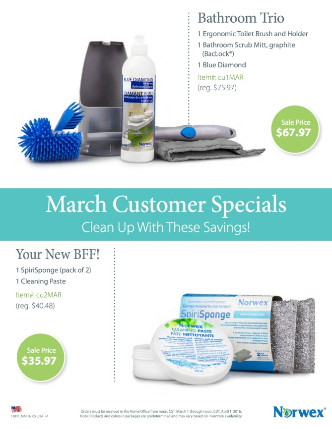 March Customer Special