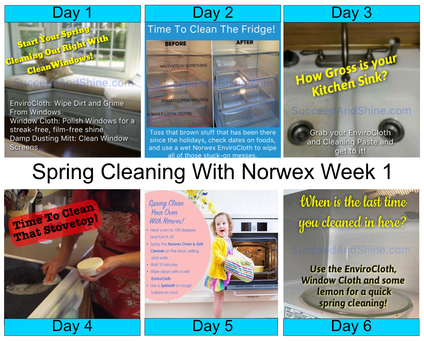How to use norwex for spring cleaning week 1 succeed What is spring cleaning