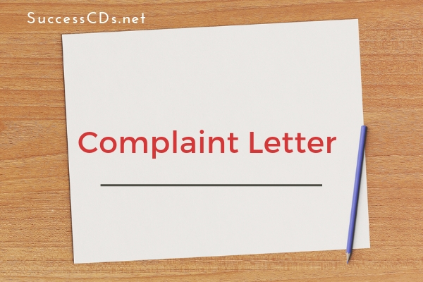 Complaint Letter Format for CBSE Class 10, 12, Topics, Samples