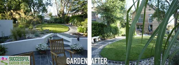 A back front garden! An unusual garden – Case study