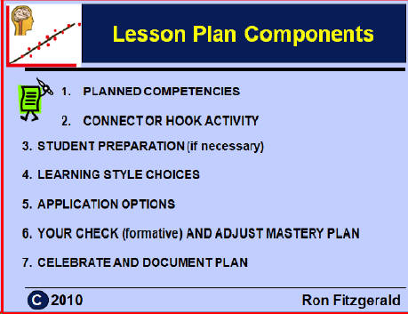 Sample Lesson Plan
