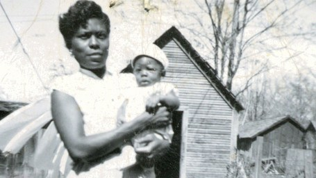 Lee Rice, II as a baby (c.1950)