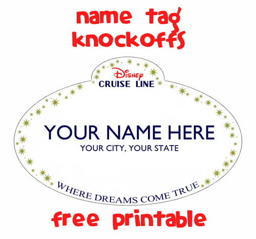 Name tag knockoff  fish extender gift idea - Such the Spot