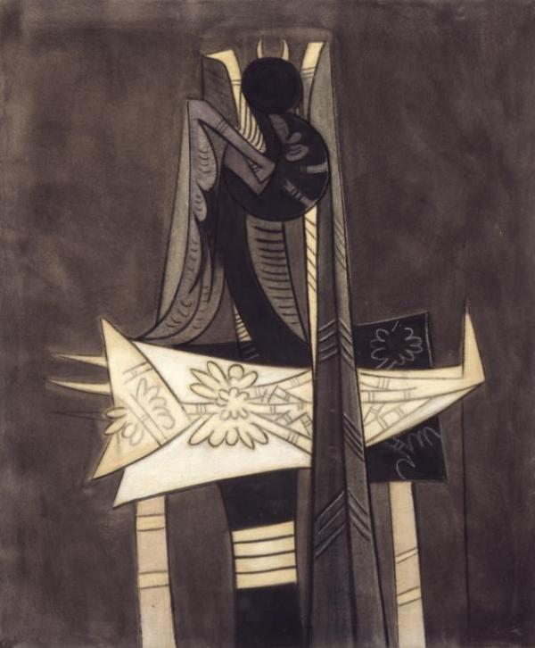 Ibaye 1950 Wifredo Lam 1902-1982 Purchased 1952 http://www.tate.org.uk/art/work/N06073
