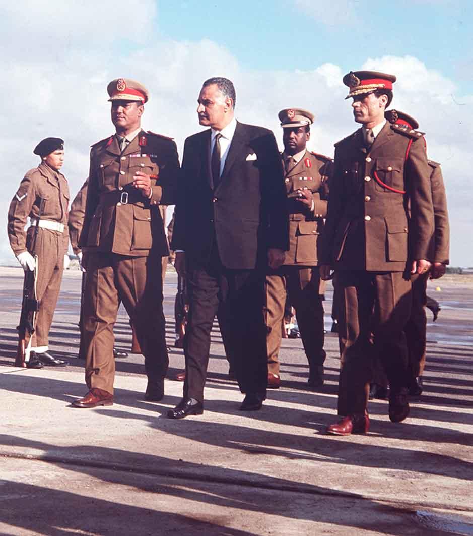 ترى ماذا كان يقول نميري للقذافي، وما الذي أضحك عبد الناصر؟
