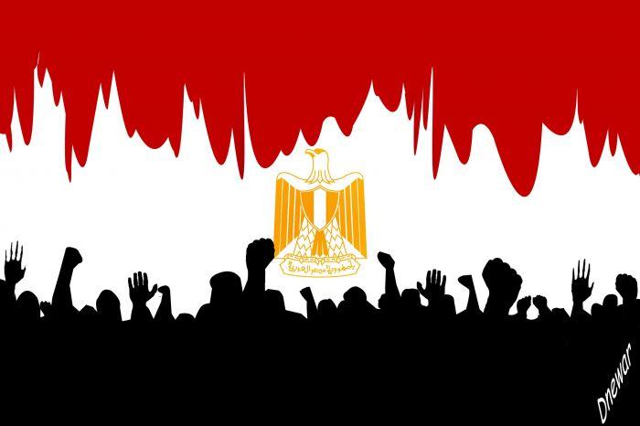 عاجل : بالصور حريق هائل في وسط القاهرة