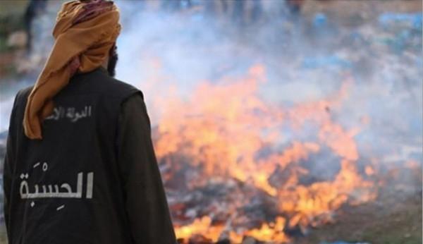 صور.. لماذا أعدم داعش أطنان من الدجاج ؟!
