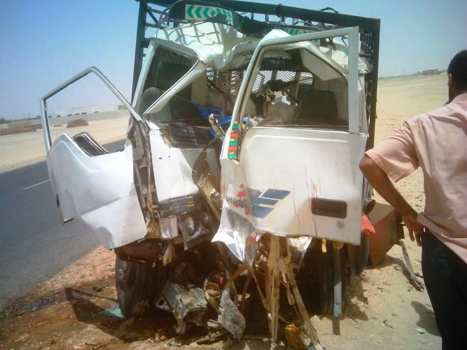 وفاة ثلاثة أشقاء وإصابة ثلاثة آخرين في حادث سير بمدخل القولد شمالي السودان !!