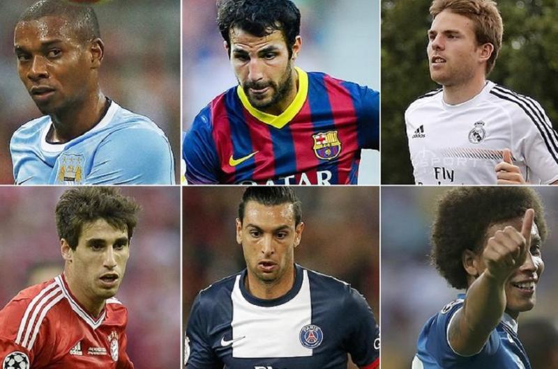 تكاليف انتقال لاعبي كرة القدم الأعلى في كل العصور