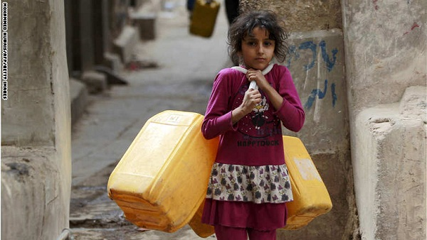 بالصور: مظاهر شهر رمضان في مناطق الصراع والتوتر