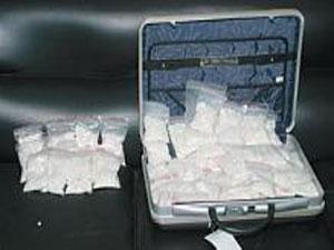 بالصورة: ضبط أكبر شحنة مخدرات في العالم بقيمة ملياري ريال في طريقها من البحرين إلى السعودية