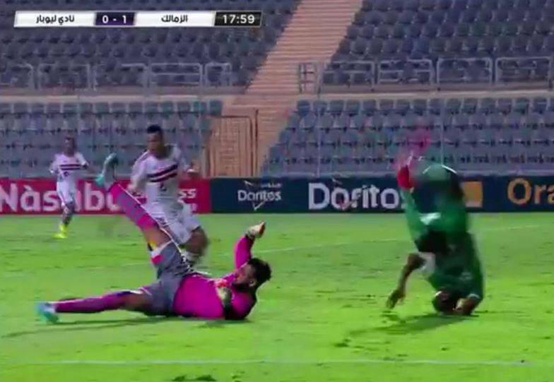 وفاة رودي نداي لاعب ليوباردز الكنغولي بعد إصطدامه بالحارس المصري احمد الشناوي