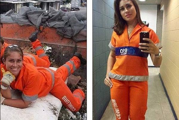 بالصور: الكناسة الفاتنة.. ملكة جمال عاملات النظافة