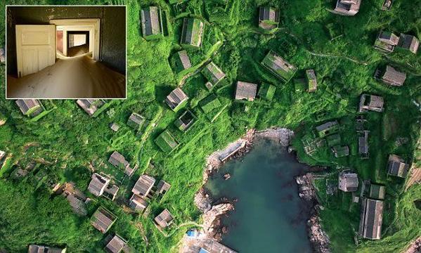 بالصور: شاهد أغرب الأماكن في العالم.. نسيها الزمن فأكلتها الطبيعة