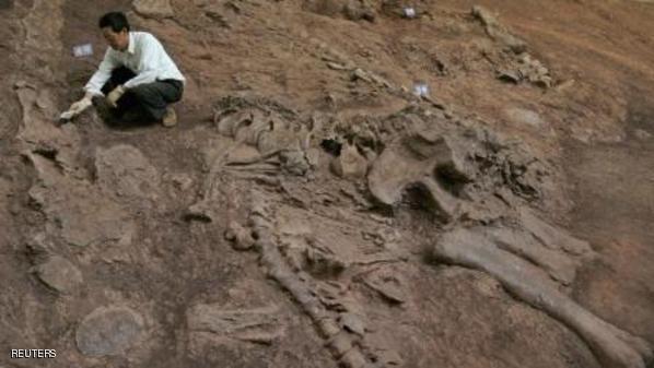 """ديناصور كثيف الشعر """"من الجحيم"""""""