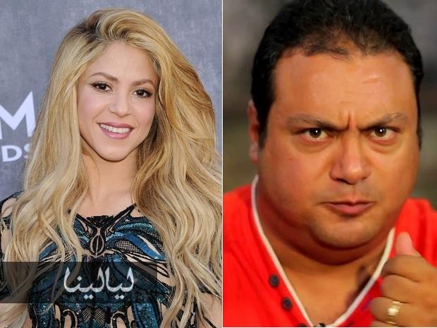 """فيديو طريف.. شاكيرا لمذيع مصر: """"عطيني بوسة""""..! فماذا فعل؟"""
