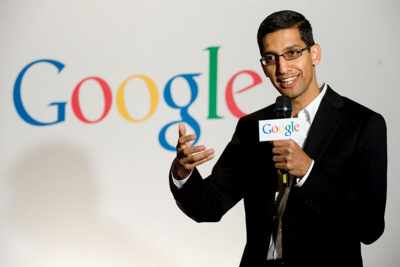 راتب رئيس جوجل يعادل 15 ألف أمريكي
