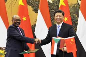 البشير: سنوفّر الحماية الكافية للاستثمارات الصينية بالسودان