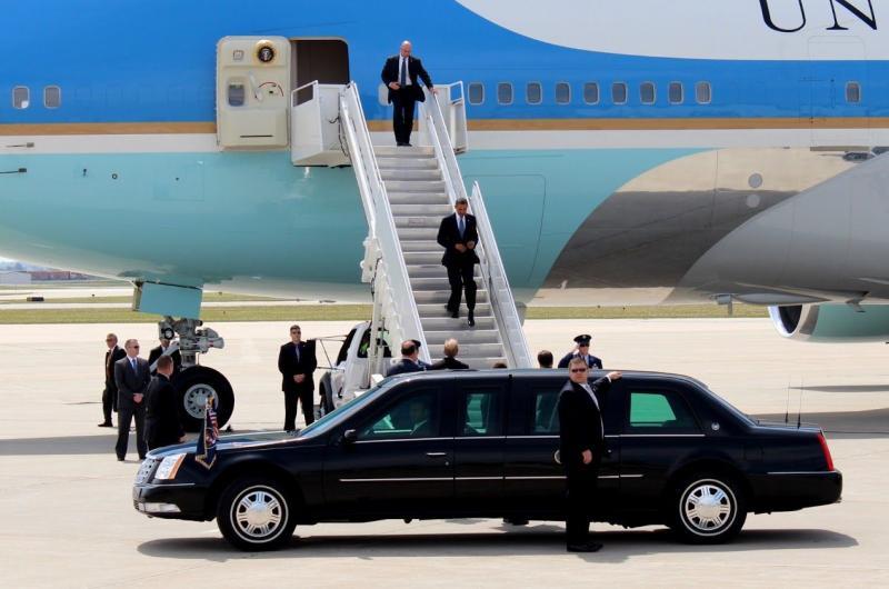 8 أشياء لا تعرفها عن طائرة الرئيس الأمريكي أوباما