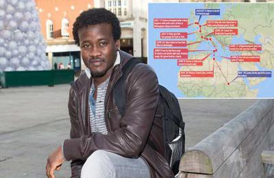 بريطانيا تمنح سودانيا اللجوء بعد عبوره قناة «المانش» مشياً