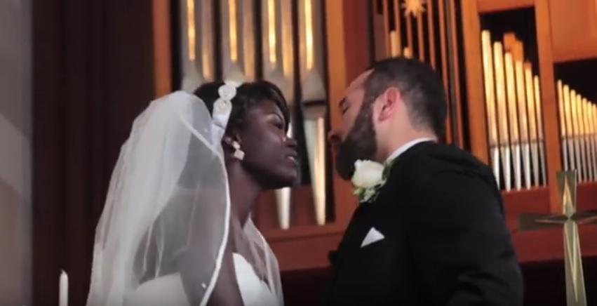 فيديو: حفل زواج سودانية من امريكي في اجواء حالمة والعريس يضع الحناء كعادة السودانيين