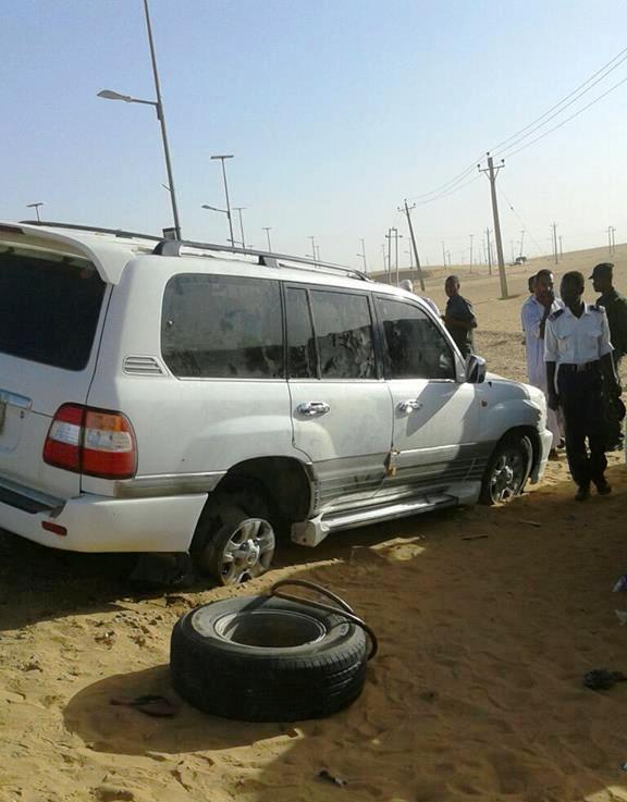 بالصور : السلطات الأمنية بمحلية الدبة تضبط لاندكروزر محملة بكميات من الأسلحة !!