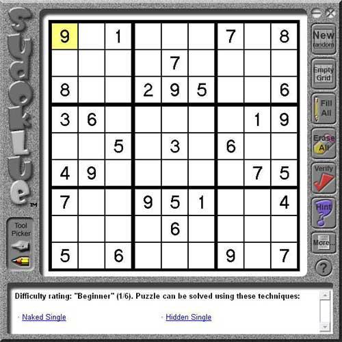 Sudoklue - Sudoku Solving and Teaching Tool